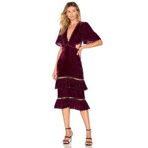 TULAROSA Kaylee dress XS CURRENT ON REVOLVE
